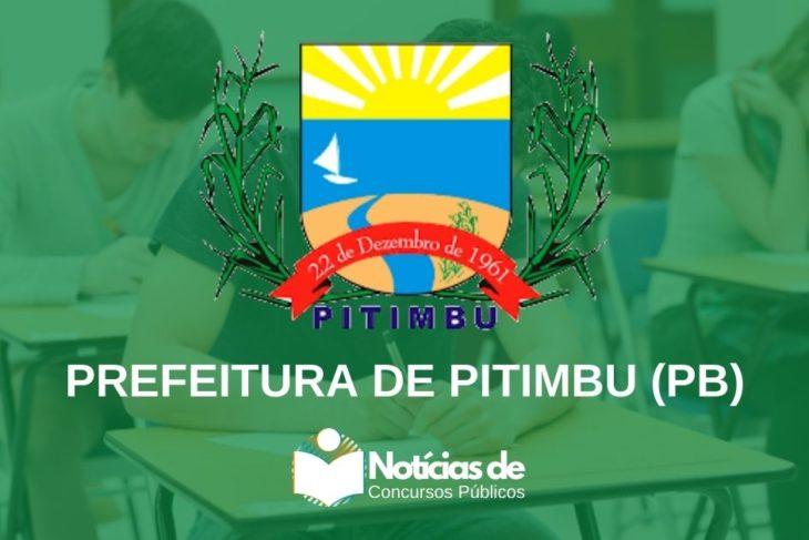 Concurso de Pitimbu (PB): Inscrições reabertas! 305 vagas e Mais de R$2,8 Mil!