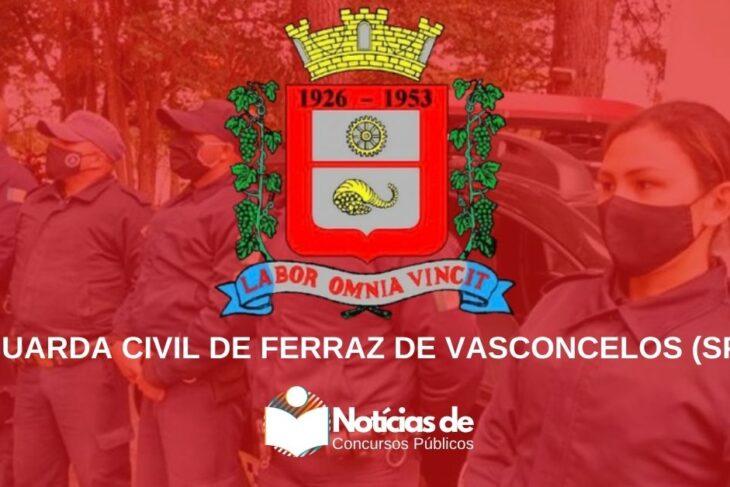 Concurso da Guarda de Ferraz de Vasconcelos (SP): Saiu Edital! 20 vagas!